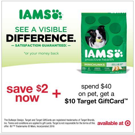 printable iams puppy food coupons coupon alert 2 00 off iams dry dog food 10 target