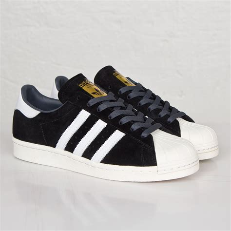Adidas Suede Black adidas white gold superstar 80s deluxe suede black vintage metallic adidas 2016 use