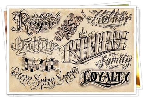 21 lindas fontes para tatuagem diversas e combinadas
