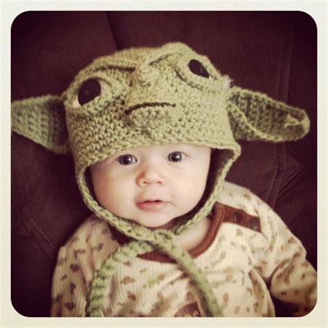 Crochet Newborn Yoda Hat Pattern Free