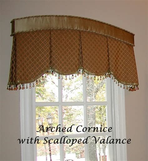Cornice Valance Ideas Cornice With Pleated Valance Eclectic Window