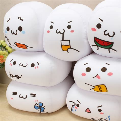 Nuget Cutel chicken nuggets jun emoticons plush toys acting