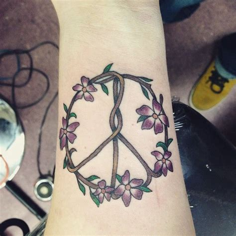 tattoo meaning peace 1000 ideas about peace sign tattoos on pinterest