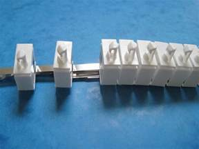 replacement vertical blind track carriers parts spares