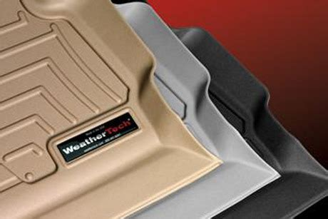 set of front and rear row weathertech floor liners from 5