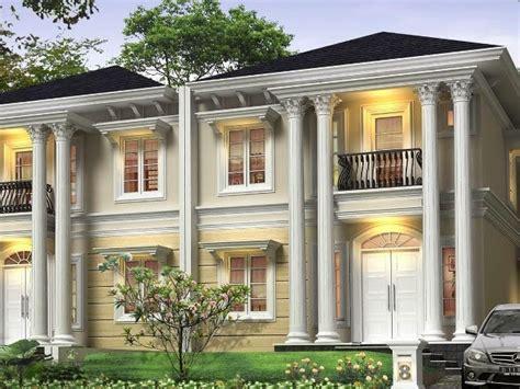 desain interior rumah gaya mediterania membuat desain rumah mewah gaya mediterania eropa jasa