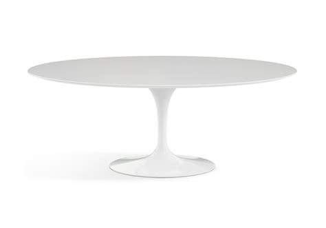 saarinen tavolo knoll saarinen tavolo ovale in legno knoll milia shop