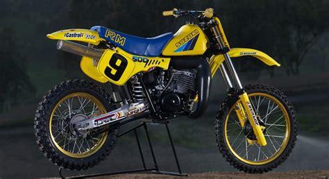 Rm500 Suzuki Bike Dissected 1983 Suzuki Rm500 Transmoto