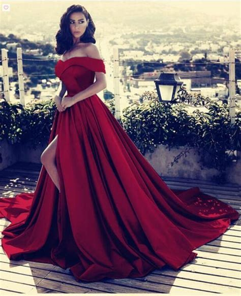 red prom dresses ball gown prom dresses prom  dresses