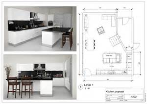 kitchen with island floor plans galley shaped
