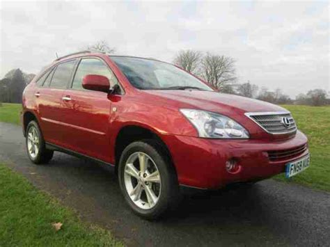 lexus car 2008 lexus 2008 rx400 h se cvt car for sale