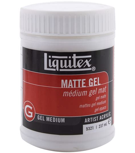 matt gel liquitex matte gel medium 8 oz jo