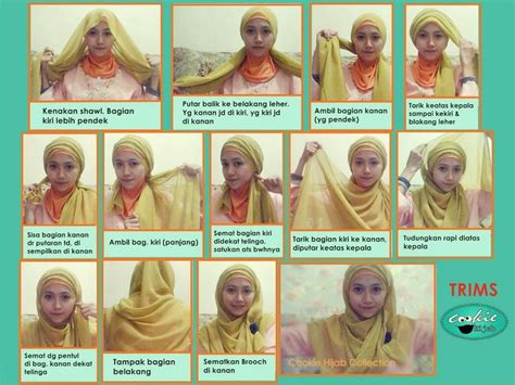 tutorial hijab paris doble 95 best images about hijab tutorials on pinterest turban