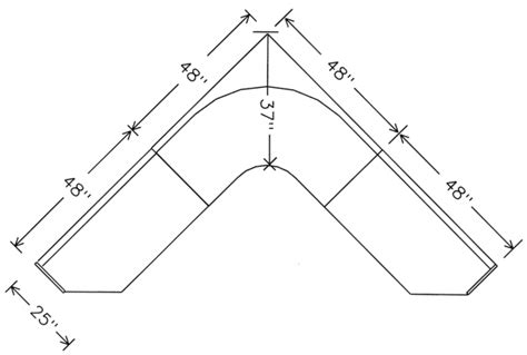 corner booth seating dimensions mmls