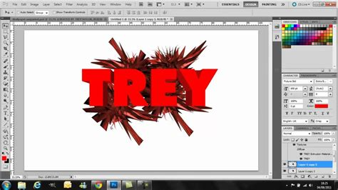 tutorial photoshop cs5 ganti background photoshop cs5 tutorial 3d text and abstract background