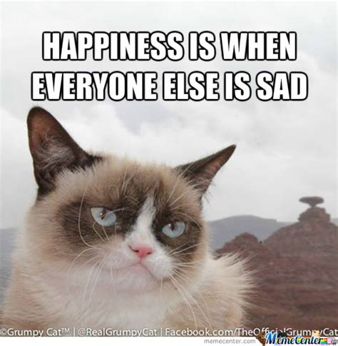Smiling Cat Meme - grumpy cat smiling by tobi97 meme center