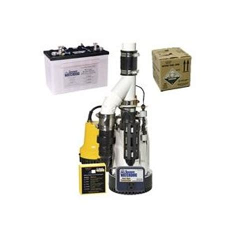 basement watchdog combo pumps selection combination sump warranty review by comparison