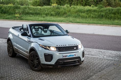 range rover convertible range rover evoque convertible review carwitter car