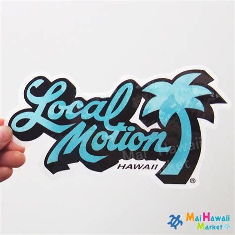 Local Hawaiian Stickers