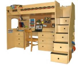 Ikea Bunk Bed Desk 45 Bunk Bed Ideas With Desks Ultimate Home Ideas