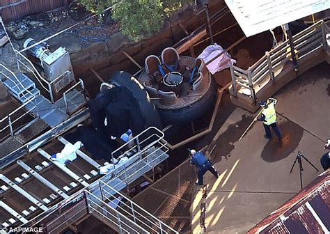 theme park disasters no charges expected over dreamworld theme park disaster