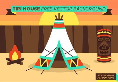 tipi house tipi house free vector background download free vector