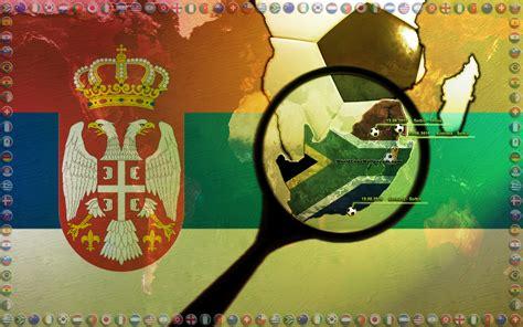 grukarte versenden bild serbia world cup postkarten