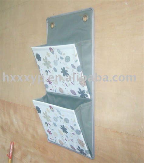 Kantong Mesh Kamar Mandi dua kantong kanvas dicetak menggantung lemari organizer di kamar mandi tas penyimpanan id produk