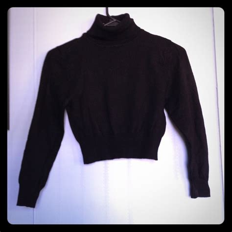 Turtle Neck Hnm Lace Crop Top turtleneck crop top sweater www pixshark images