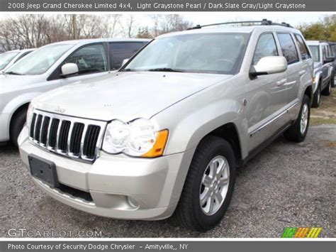 light gray jeep light graystone pearl 2008 jeep grand limited