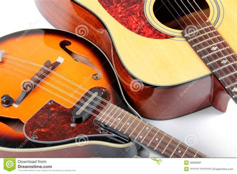 country style guitar mandolin and guitar stock image image 30628581