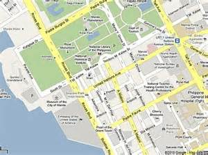 map us embassy manila backpacking philippines and asia how to get to us embassy