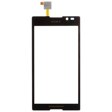 Touchscreen Sony Xperia C C2305 S39h lcd screens touch screen digitizer glass replacement for sony xperia c s39h c2305 c2304 free