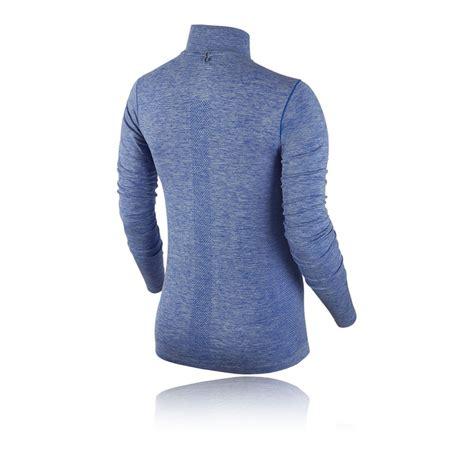 nike dri fit knit half zip nike dri fit knit half zip s running top fa15
