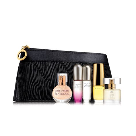 Estee Lauder Travel Exclusive estee lauder travel exclusive purse spray collection set