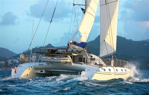 catamaran ocean cruiser crossing the atlantic on a catamaran with the arc sail