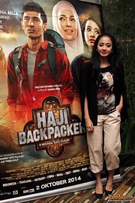 film sedih baru haji backpacker bikin pipik dan laudya cynthia bella