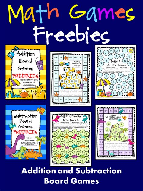 printable maths board games year 1 freebies addition and subtraction math board games just