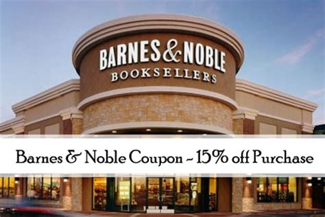 Where Can I Get A Barnes And Noble Gift Card - barnes noble coupon 15 off purchase more new store coupons southern savers
