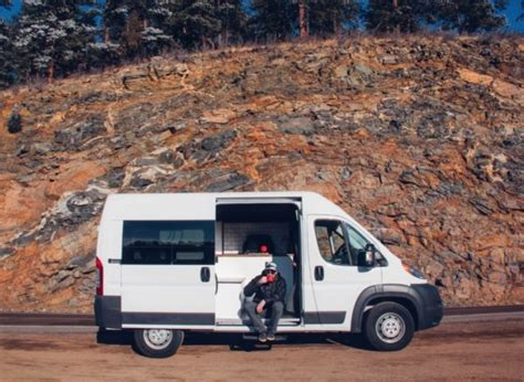 Tiny House Vacations by The Biggie Dodge Ram Promaster Van Conversion By Native