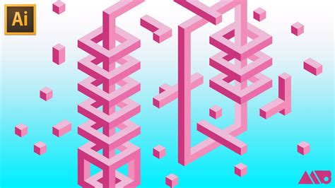 tutorial illustrator isometric how to draw 3d isometric shapes using a hex grid in adobe