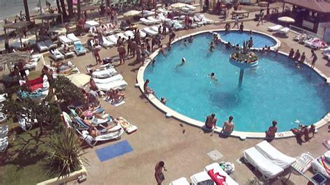 jet appartments ibiza ibiza jet apartments pool 14pm aug 2011 part 1 hd