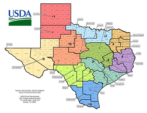 service county texas map texas contacts usda rural development