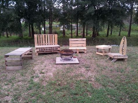 pit set up pit set up pretty pallets pallet furniture