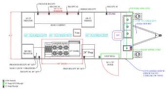 Home Plans With Large Kitchens pub club catering concession trailer custom concessions