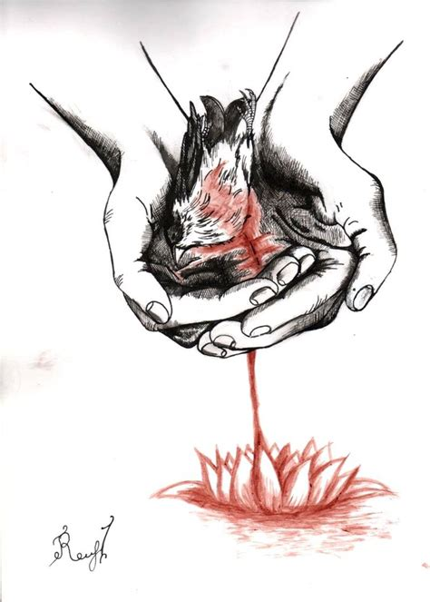 Broken A Person By Raccoon Psychopath On Deviantart by Dead Bird In By Raccoon Psychopath On Deviantart