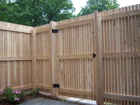 design a fence wooden fence gate designs