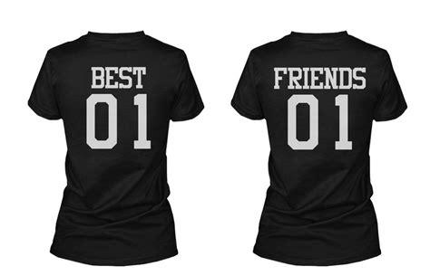 T Shirt The Best 99 01 Best 01 Friend 01 Matching Best Friends T Shirts Bff Tees