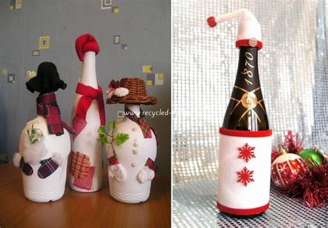 Diy decorations from reuse glass bottles recycled things