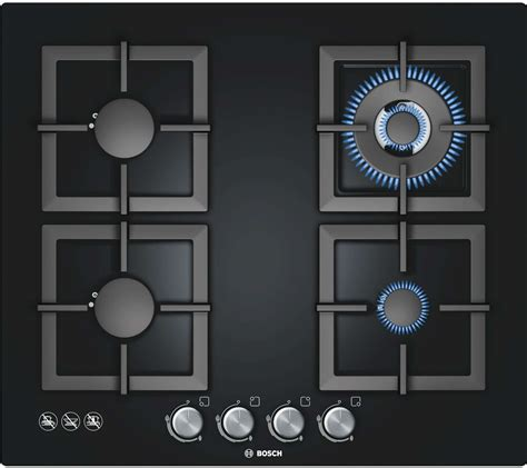bosch glass gas cooktop bosch 60cm series 6 black ceramic glass gas cooktop
